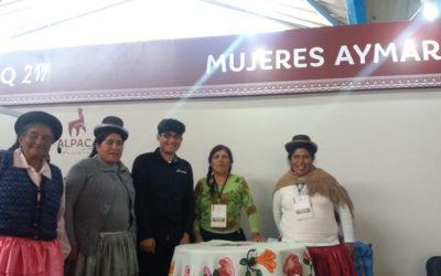 """La Coordinadora de Mujeres Aymaras (CMA) participa en el evento """"Alpaca Fiesta 2018"""""""